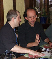 John Lkos and Kevlin Henney in 2007
